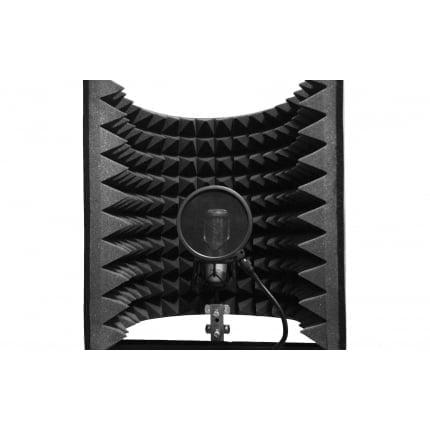 Акустический экран для микрофона  Ecosound L 50х50 см цвет черный