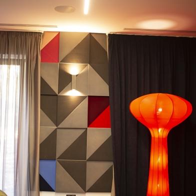 Купить акустическая плита треугольник ecosound grey 500х500х30мм цвет серый по низкой цене