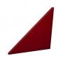 Купить акустическая плита треугольник ecosound red 500х500х30мм цвет красный по низкой цене