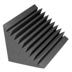 Бас ловушка Ecosound Высота 60 см,сторона 38 см Цвет черный графит