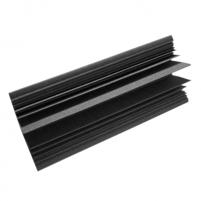 Купить бас ловушка ecosound пила угловая длина 0,5м ширина 25 см цвет черный графит по низкой цене