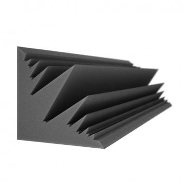 Бас ловушка Ecosound Пила угловая длина 1м ширина 25 см Цвет черный графит