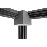 Комплект Ecosound Пила угловая 3 штуки(16см х 2м)+КУБ 25х25см Цвет черный графит