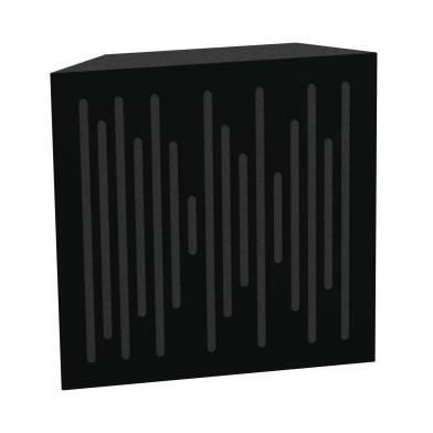 Купить бас ловушка ecosound bass trap ecowave wood 500х500х100 цвет черный по низкой цене