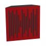 Купить бас ловушка ecosound bass trap ecowave wood 500х500х100 цвет красный по низкой цене