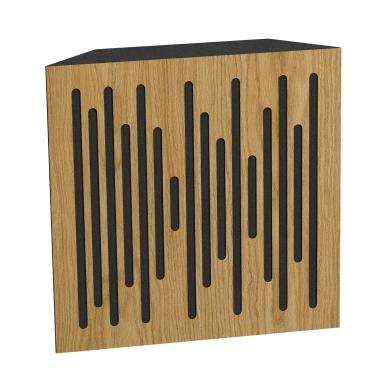 Купить бас ловушка ecosound bass trap ecowave wood 500х500х100 цвет шервуд по низкой цене