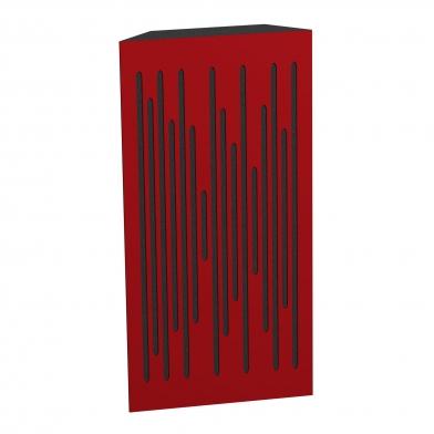 Купить бас ловушка ecosound bass trap wood 1000х500х150 цвет красный по низкой цене