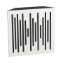 Купить бас ловушка ecosound bass trap wood 500х500х150 цвет белый по низкой цене