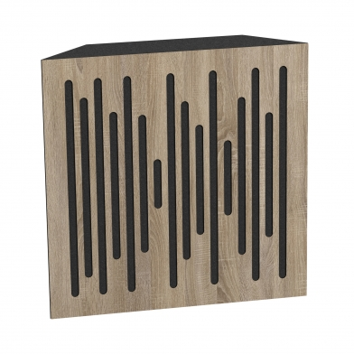 Купить бас ловушка ecosound bass trap wood 500х500х150 цвет сонома по низкой цене