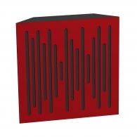Бас ловушка Ecosound Bass trap wood 500х500х150 цвет красный