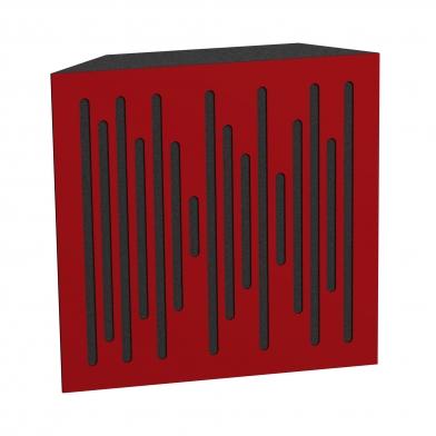 Купить бас ловушка ecosound bass trap wood 500х500х150 цвет красный по низкой цене