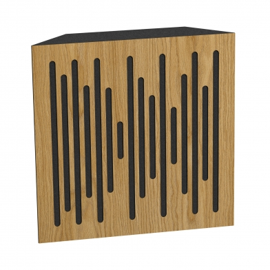 Купить бас ловушка ecosound bass trap wood 500х500х150 цвет шервуд по низкой цене