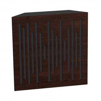 Купить бас ловушка ecosound bass trap wood 500х500х150 цвет венге по низкой цене