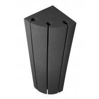 Бас ловушка угловая Ecosound Bass trap Sector 1000х250х250 цвет черный графит