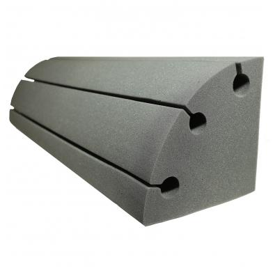 Купить бас ловушка угловая ecosound bass trap sector 1000х250х250 цвет черный графит по низкой цене