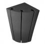 Купить бас ловушка угловая ecosound bass trap sector 500х250х250 цвет черный графит по низкой цене