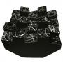Купить басовая ловушка bass trap ecodiff foam picasso black 500x500x300 мм цвет черный по низкой цене