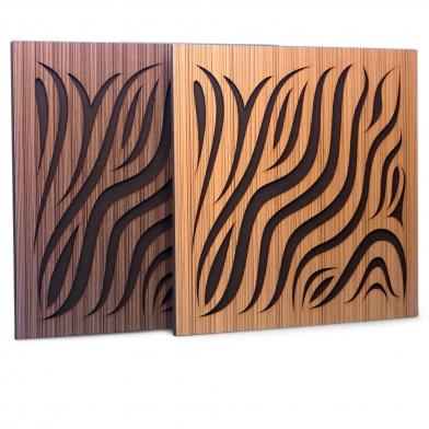 Купить акустическая панель ecosound chimera ebony&ivory 50x50см 73мм цвет черно-белый по низкой цене