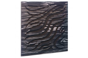 Акустическая панель Ecosound Chimera Ebony&Ivory 50x50см 33мм цвет черно-белый