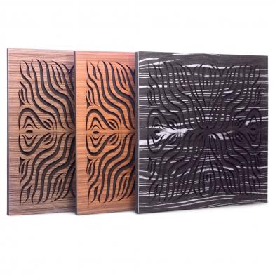 Купить акустическая панель ecosound chimera f ebony&ivory 50x50см 73мм цвет черно-белый по низкой цене