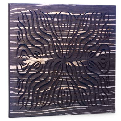 Купить акустическая панель ecosound chimera f ebony&ivory 50x50см 53мм цвет черно-белый по низкой цене