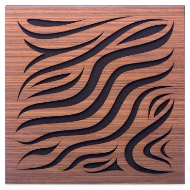 Купить акустическая панель ecosound chimera rosewood 50x50см 33мм цвет коричневый по низкой цене