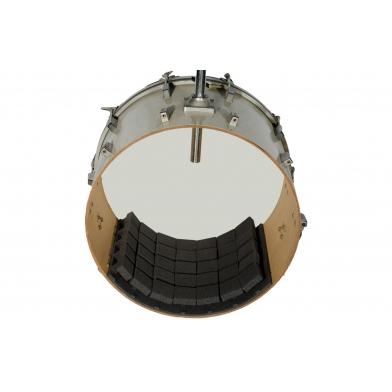 """Купить демпфер-глушитель для барабанов ecosound """"пила"""" 50х50см цвет черный графит по низкой цене"""