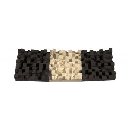 Превью Акустический диффузор-рассеиватель Ecosound EcoDIFF Black 150мм,50х50 см цвет черный