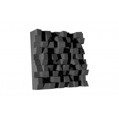 Купить акустический диффузор-рассеиватель ecosound ecodiff black 150мм,50х50 см цвет черный по низкой цене