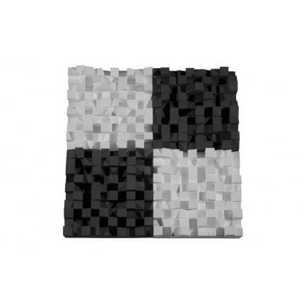 Превью Панель из акустического поролона Ecosound Quadro 50мм, 50х50см цвет черный графит