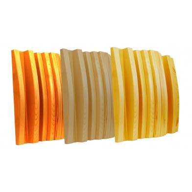 Купить акустический диффузор-рассеиватель ecosound ecowood 135 мм,60х60 см светлый дуб по низкой цене