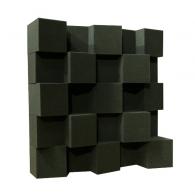 Акустический диффузор-рассеиватель Ecosound EcoDIFF foam 150мм, 50х50 см цвет черный