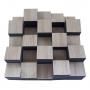 Купить акустический диффузор-рассеиватель ecosound ecodiff foam sonoma 150мм, 50х50 см цвет сонома по низкой цене