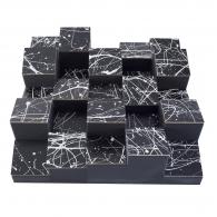 Акустический диффузор-рассеиватель Ecosound EcoDIFF foam Picasso 150мм, 50х50 см цвет черный