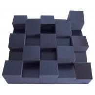 Акустический диффузор-рассеиватель Ecosound EcoDIFF foam black 150мм,50х50 см цвет черный