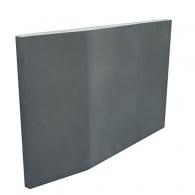 Акустическая плита Ecosound Doblorectang Gray 800х500х80мм цвет серый