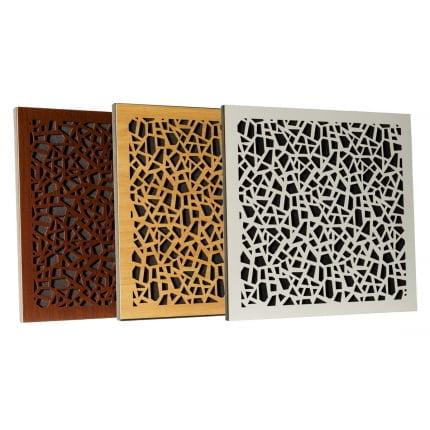 Превью Акустическая Ecosound панель EcoArt brown 50х50 см цвет коричневый