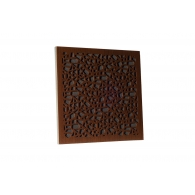 Акустическая панель Ecosound EcoArt brown 50х50 см 33 мм цвет коричневый