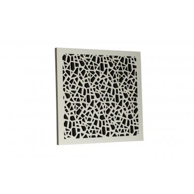 Купить акустическая панель ecosound ecoart white 50х50 см 33мм цвет белый по низкой цене
