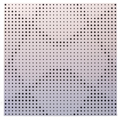 Купить акустическая панель ecosound rhombus white 50х50 см 53мм цвет белый по низкой цене