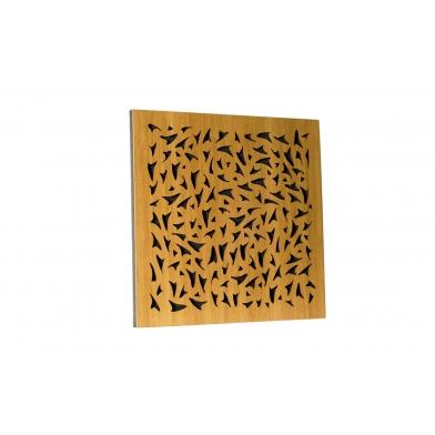 Акустическая панель Ecosound EcoFly cream 50х50 см 53мм Светлый  дуб