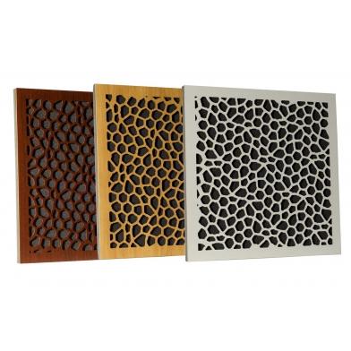 Купить акустическая панель ecosound econet white 50х50 см 73мм цвет белый по низкой цене