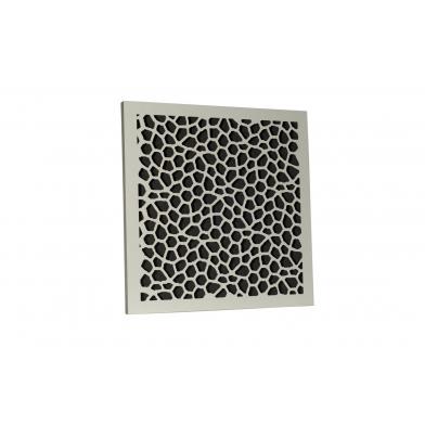 Купить акустическая панель ecosound econet white 50х50 см 53мм цвет белый по низкой цене