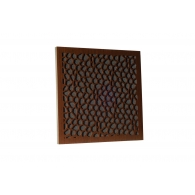 Акустическая панель Ecosound EcoNet brown 50х50 см 33мм цвет коричневый
