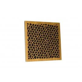 Акустическая панель Ecosound EcoNet cream 50х50 см 53мм цвет Светлый  дуб