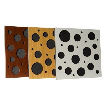 Превью Акустическая панель Ecosound EcoBubble brown 50х50 см цвет коричневый