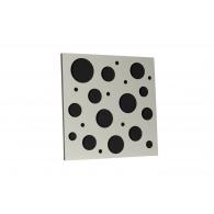 Акустическая панель Ecosound EcoBubble white 50х50 см 33мм цвет белый
