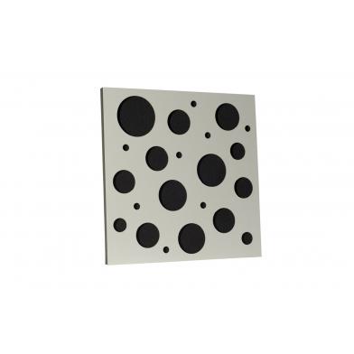Акустическая панель Ecosound EcoBubble white 50х50 см 53мм цвет белый