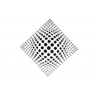 Акустическая панель Ecosound Lens white 50х50 см 53мм  Цвет белый