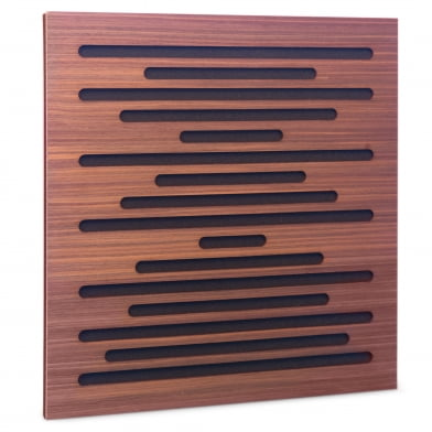 Акустическая панель Ecosound EcoWave Rosewood 50x50см 53мм цвет коричневый